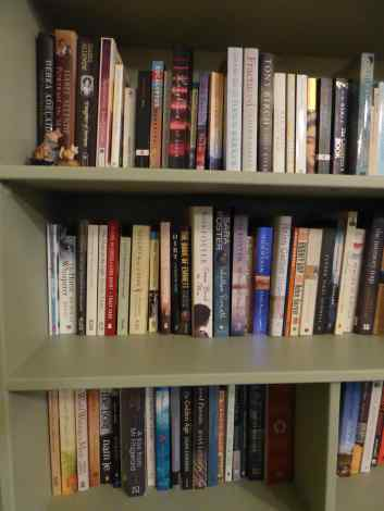 amanda-section-of-fiction-shelves