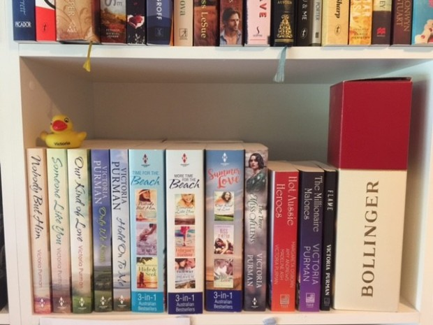 Victoria Purman shelf 1