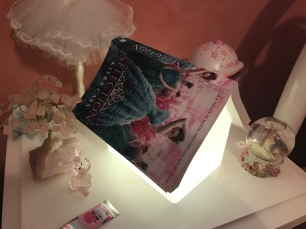 Lara's book lamp