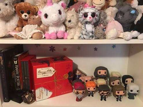 Lara's shelf