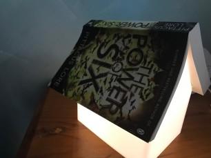 Tom's book lamp